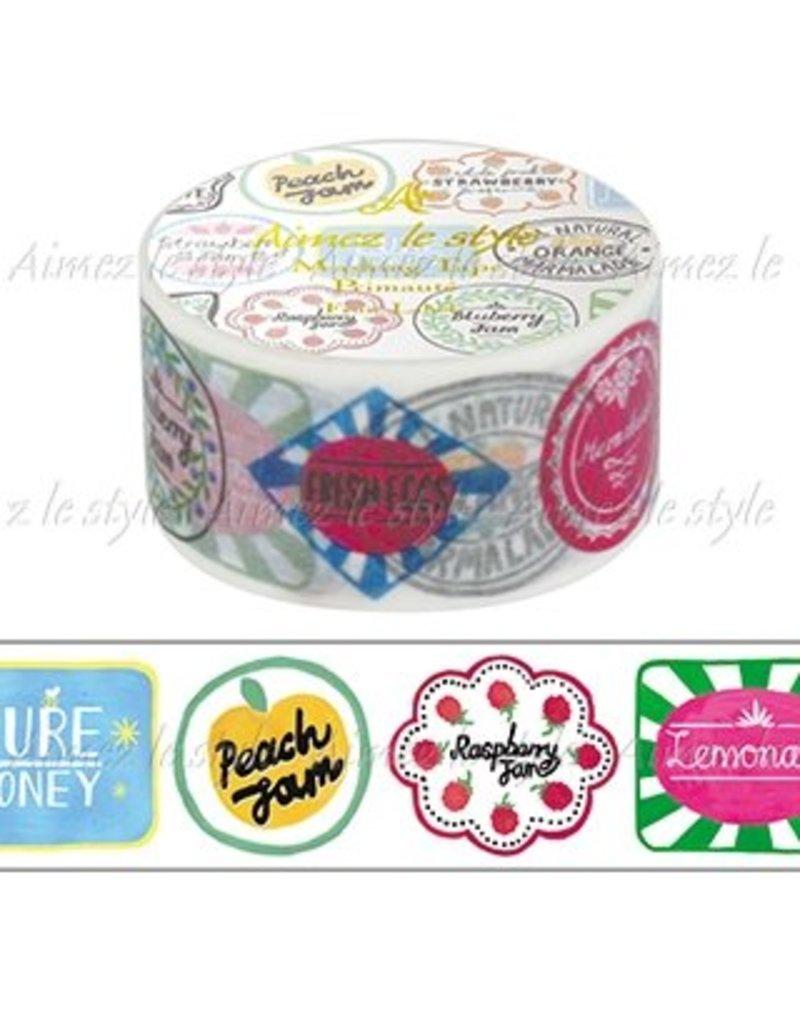 Aimez le style Aimez le style Washi Tape Fruit Labels