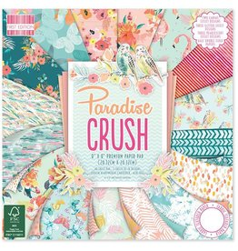 Paradise Crush 8x8 Paper Pad First Edition