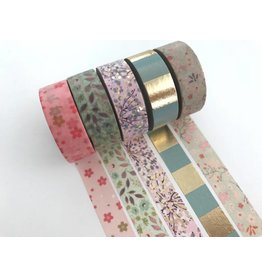 Paper Poetry Washi Tape Set Bouquet Savage