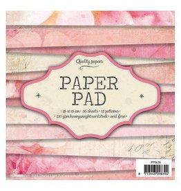Rosa Paper Pad  6x6 Inch 36 Blatt