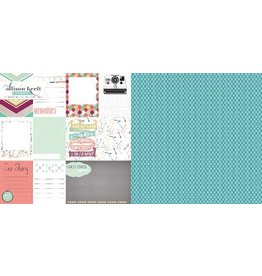 Remember When 12x12 Cardstock Webster`s Pages
