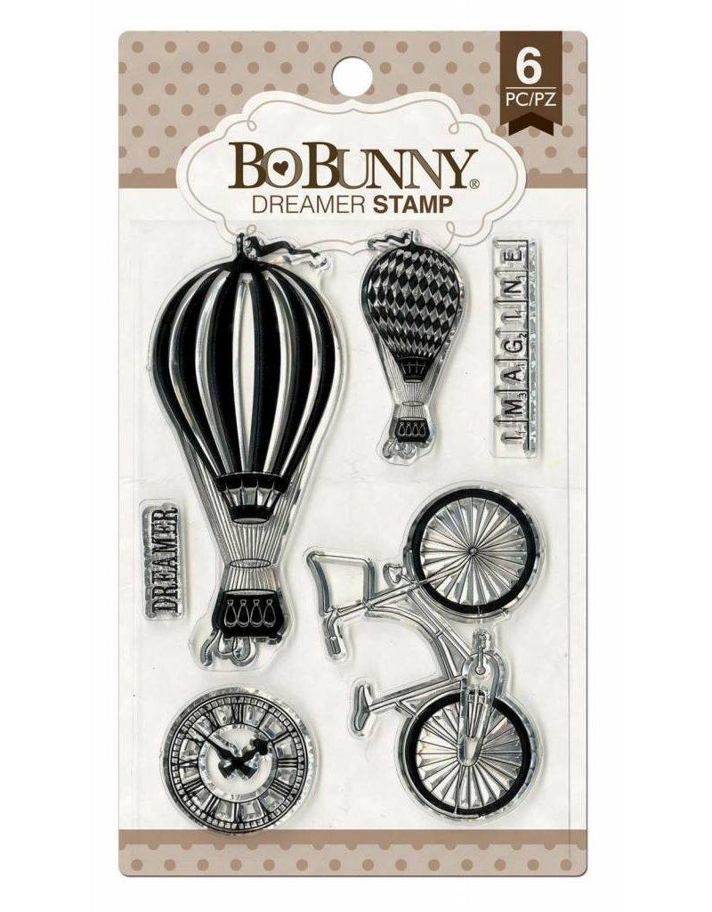 Bo Bunny Bo Bunny clear stamp set  dreamer
