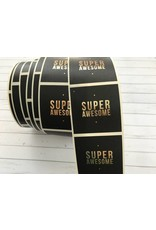 10 Aufkleber  SUPER AWESOME