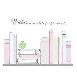 Notizblock Bücher DIN A5