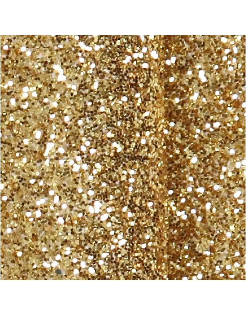 4x selbstklebende Glitzerschleifen  Gold