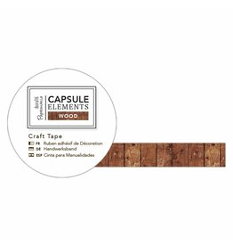 Papermania Washi Tape Elements Wood - Panels