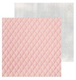 """Kaisercraft Cottage Rose Quilt  Cardstock Bogen 12x12"""""""