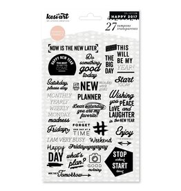 kesi`art Clear Stamps Set What`s the plan