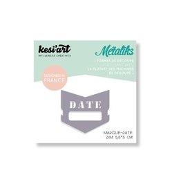 kesi`art Stanzschablone Date Marker von kesi`art