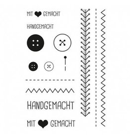 Clear Stamp Set  Nähen
