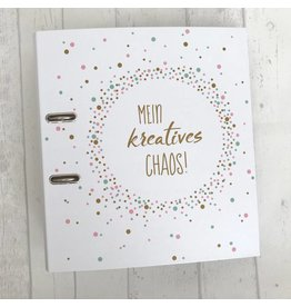 Hebelordner DIN A4  - Mein kreatives Chaos -