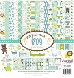Echo Park Sweet Baby Boy 12x12 Collection Kit