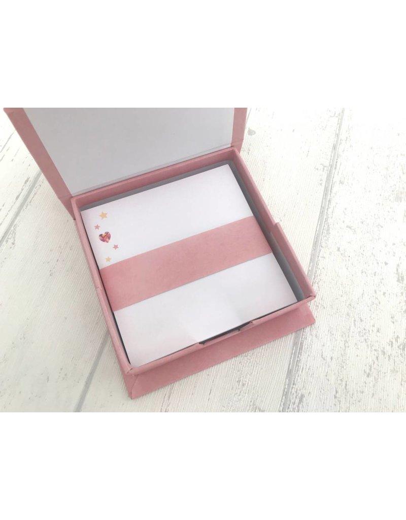 Notizzettel Box Phantasiewelt