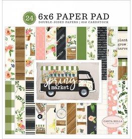 Carta Bella spring market  6x6  Paper Pad