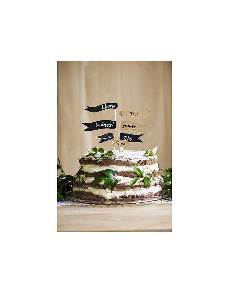 7 Cake Topper ...delicious