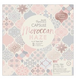 Papermania Moroccan Haze Paper Pad 6 x 6 Inch
