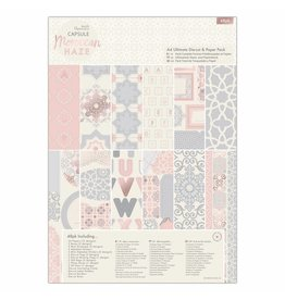 Papermania A4 Ultimate Die-cut & Paper Pack - Moroccan Haze