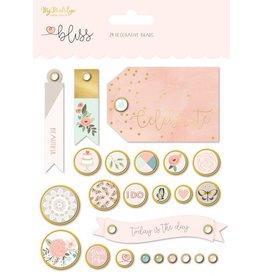 My Mind`s Eye Bliss Decorative Brads