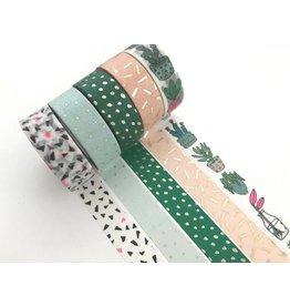 Paper Poetry Washi Tape Set Hygge Plants