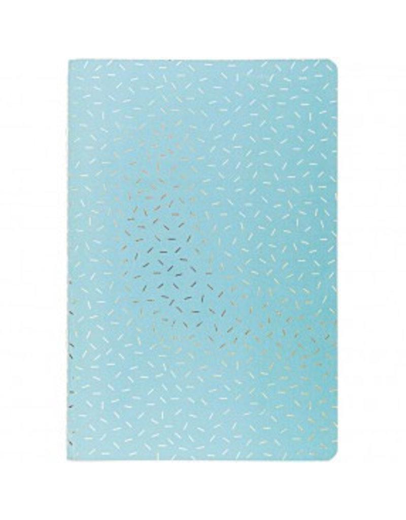 Paper Poetry 2 Notizbücher A5 Einhorn + Mint Gold