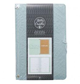 Kelly Creates Travelers Journal von Kelly Creates - Teal