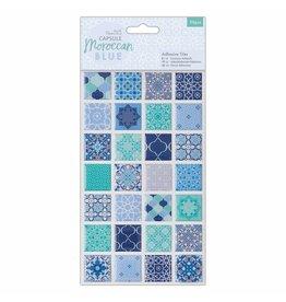 Papermania 56 Enamel Fliesensticker Moroccan Blue