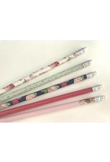 5 Bleistifte Graphic Flowers