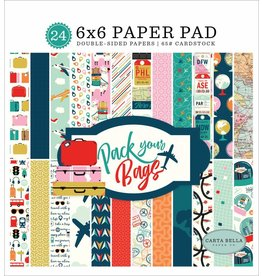 Pack Your Bags 6x6  Paper Pad