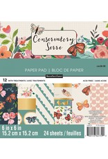 Craft Smith Craft Smith Conservatory  Paper Pad 6x6