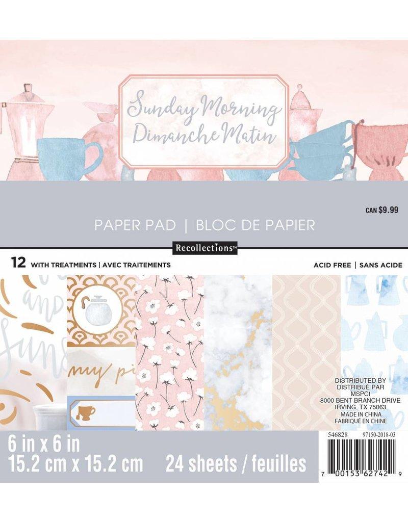 Craft Smith Craft Smith Sunday Morning Paper Pad 6x6
