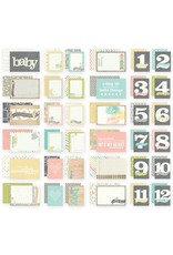 36 Hello Baby SN@P!  Journaling Snap Cards