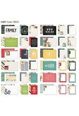 Simple Stories 36 Homespun SN@P!  Journaling Snap Cards