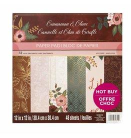 Craft Smith Craft Smith  Cinnamon Clove Paper Pad 12x12