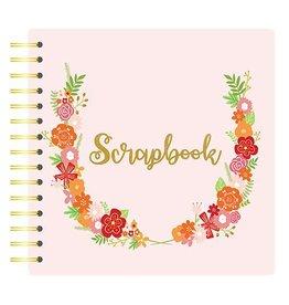 "Spiralalbum  8x8"" Floral"