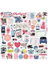 Echo Park I Am Mom 12x12 Inch Element Sticker