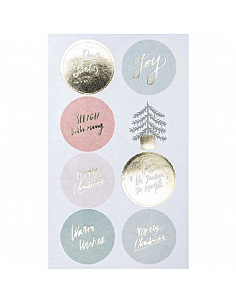 Paper Poetry 80x Paper Poetry Sticker Jolly Christmas