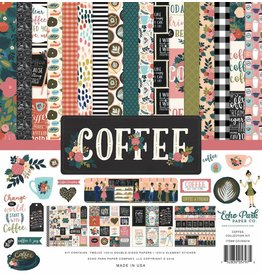 Echo Park Coffee Time 12x12 Inch Collection Kit