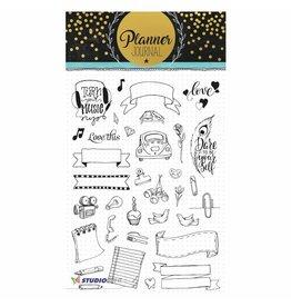 Studiolight Clear stamp set  A5 Planner journal