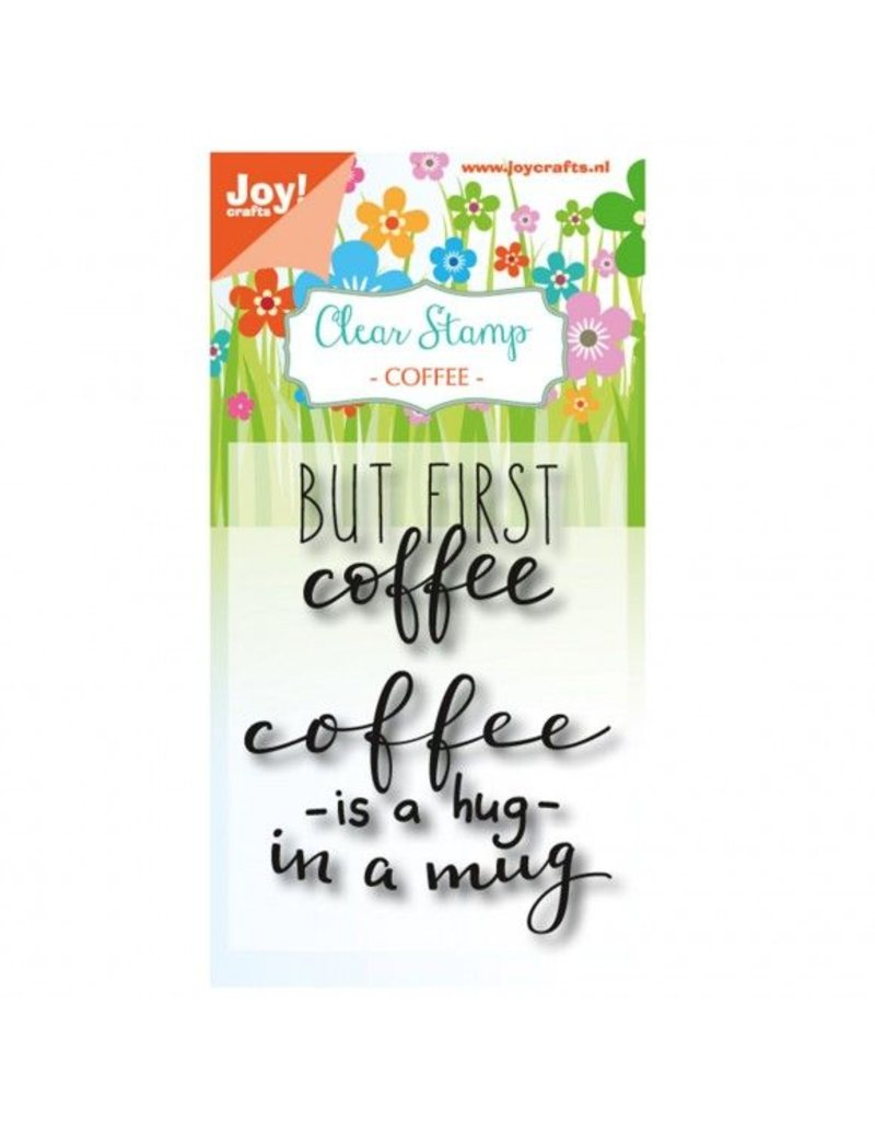 Clear Stamps Set But first Coffee