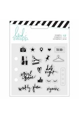 Heide Swapp Memory planner clear stamps  Everyday