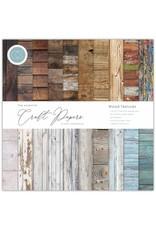 Craft Consortium Craft Consortium Essential Craft Papers 12x12 Inch Paper Pad Wood Textures