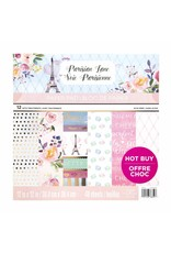 Craft Smith Craft Smith Parisian Lane Paper Pad 12x12