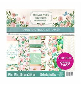 Craft Smith Craft Smith Spring Posies Paper Pad 12x12
