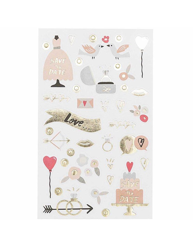 Paper Poetry 150x Paper Poetry Sticker Hochzeit