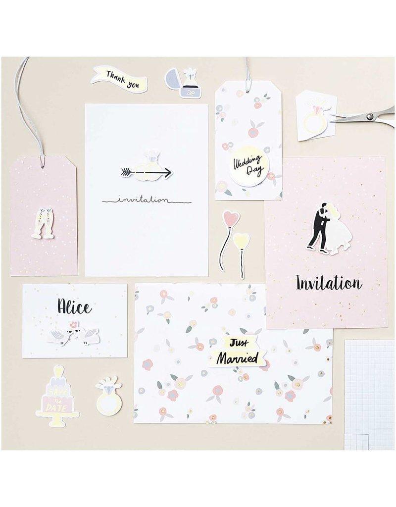 Bastelblock Hochzeit von Paper Poetry