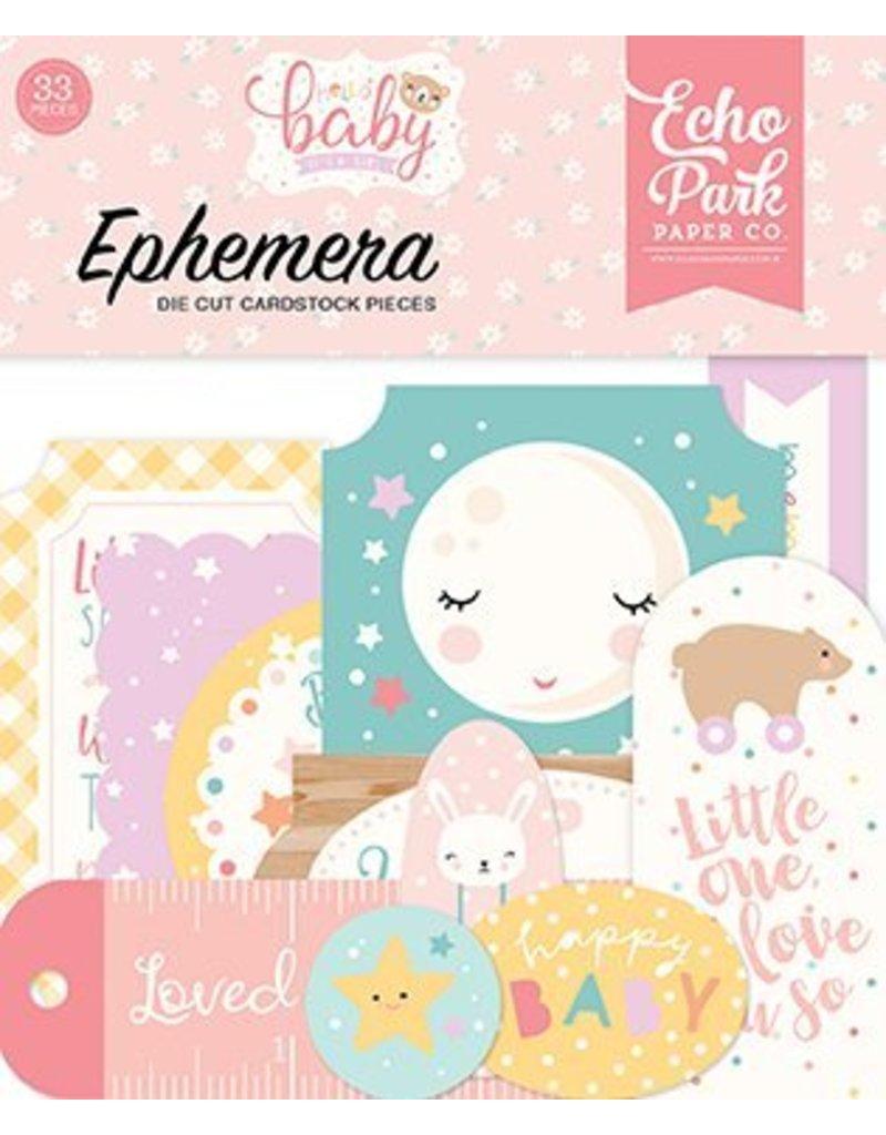 Echo Park Hello Baby Girl  Ephemera von Echo Park