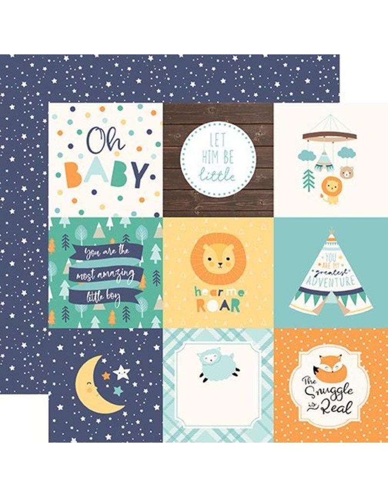 Echo Park Hello Baby Boy 6x6 Inch Paper Pad