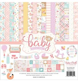 Echo Park Hello Baby Girl - 12x12 Collection Kit