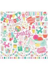 Echo Park Let's Party  12x12 Stickers