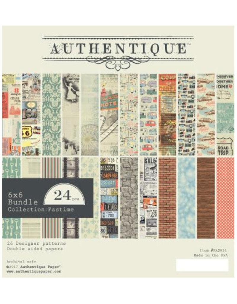Authentique 6x6 Paper Pad Pastime